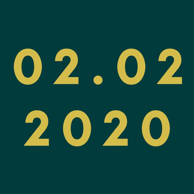 """Chúng ta đã vừa trải qua một ngày """"số đẹp"""" - 02/02/2020 - 1"""