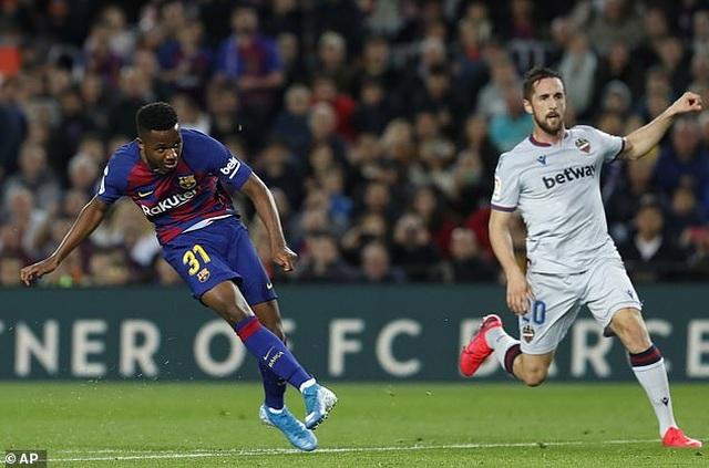Đánh bại Lavante, Barcelona tiếp tục bám đuổi Real Madrid - 2
