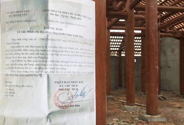 Để chùa triệu đô xây chui xâm lấn đất di tích: 4 quan xã bị kỷ luật! - 2