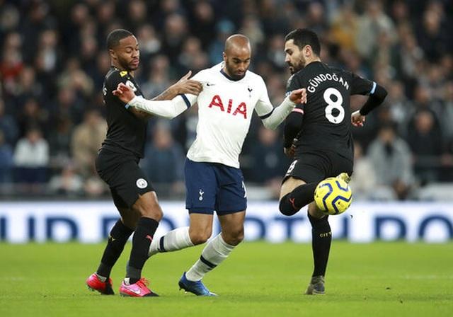Tottenham 2-0 Man City: Gundogan đá hỏng 11m, Zinchenko nhận thẻ đỏ - 9