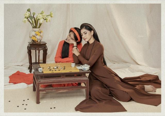 Á hậu Trương Thị May lần đầu khoe cô em gái xinh xắn, học giỏi - 7