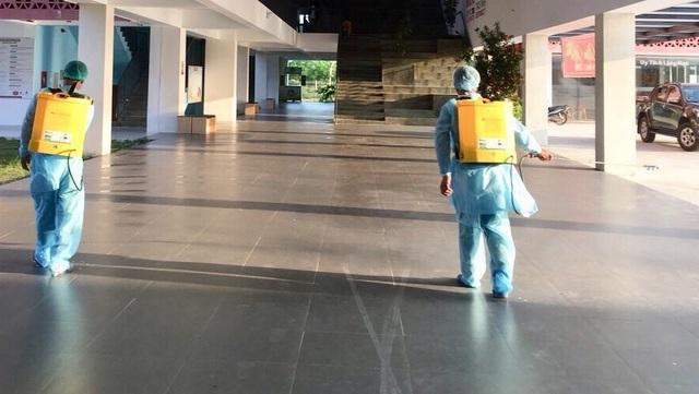 Quảng Trị:  Vệ sinh, sát khuẩn trường học phòng dịch Corona - 2