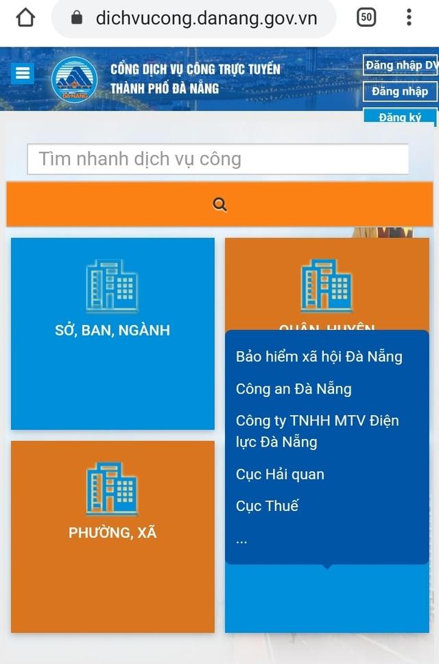 Đà Nẵng khuyến nghị người dân dùng dịch vụ công trực tuyến để phòng chống virus corona - 1