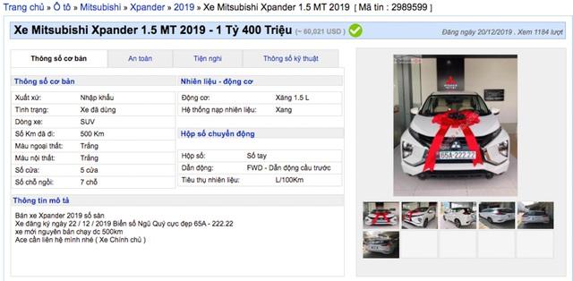 Trúng biển ngũ quý 2, chủ xe Mitsubishi Xpander tính lãi 700 triệu đồng - 2