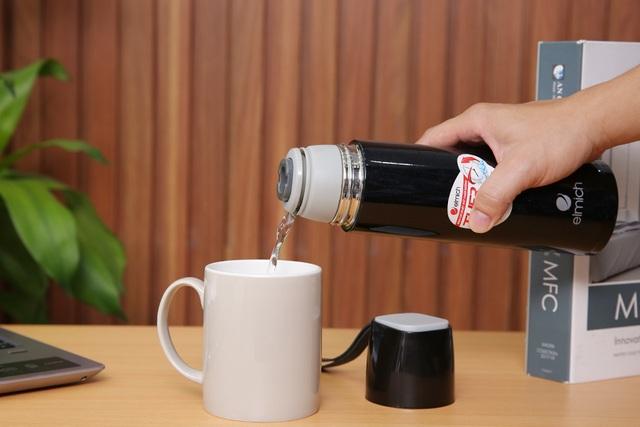 Bình giữ nhiệt Elmich – 'Trợ thủ' nhắc bạn uống đủ nước ấm phòng corona - 1
