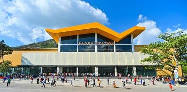 Kiến trúc độc đáo ở Nhà ga cáp treo lớn nhất thế giới - 1