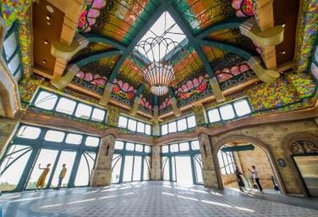 Kiến trúc độc đáo ở Nhà ga cáp treo lớn nhất thế giới - 5