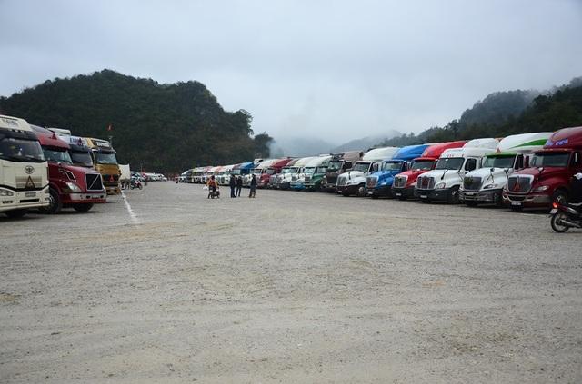 Do dịch corona, nhiều xe nông sản phải nằm chờ ở các cửa khẩu - 1