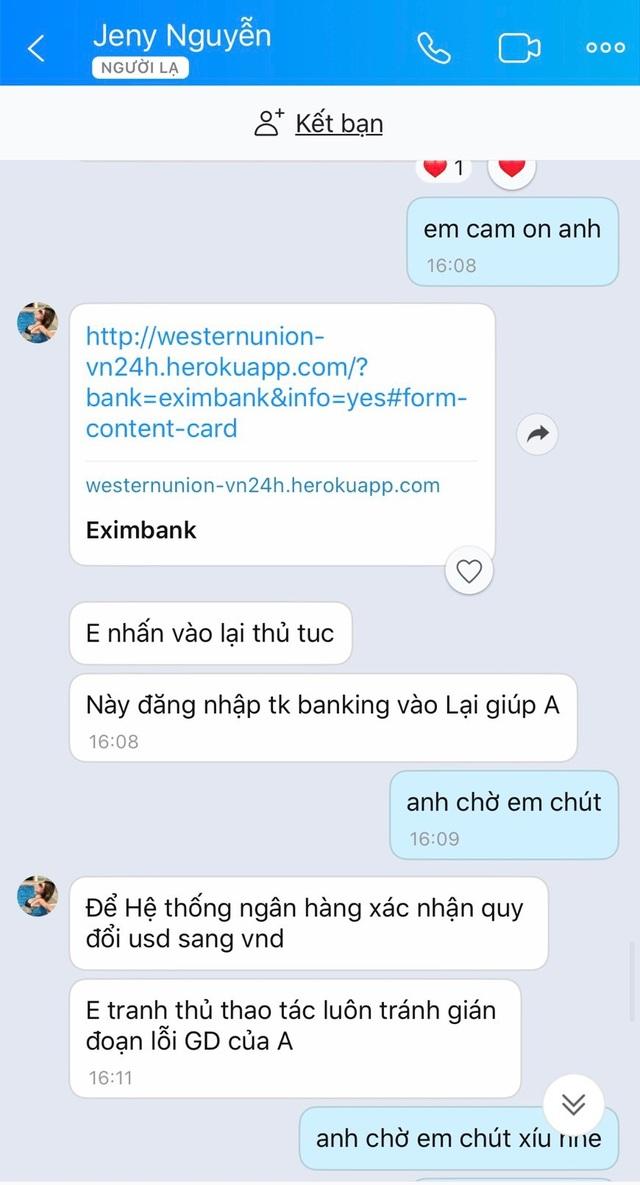 """Vụ tài khoản """"bốc hơi"""" 54 triệu đồng: Ngân hàng Eximbank giải quyết ra sao? - 2"""