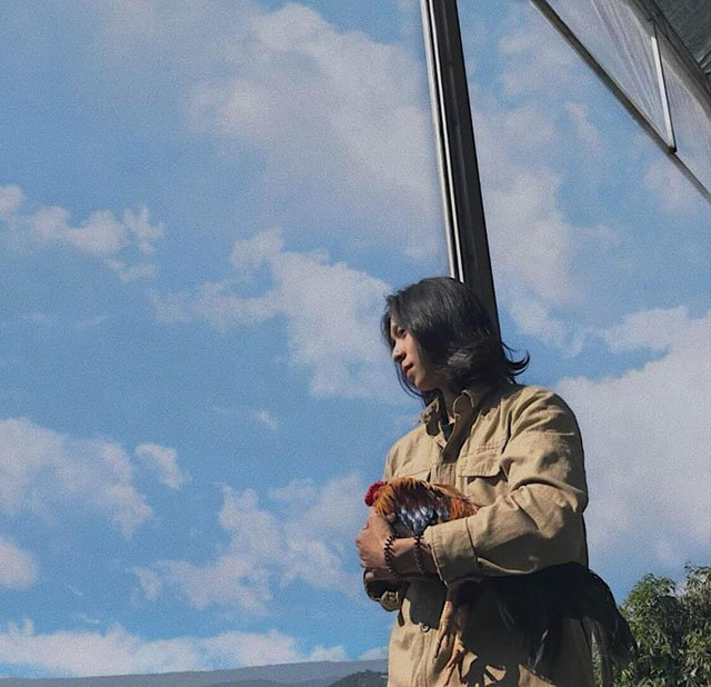 Góc nghiêng lãng tử của chàng trai Đắk Lắk sở hữu mái tóc dài - 5