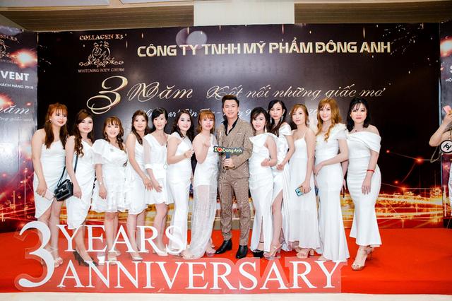 Thanh Duy Idol, Hồ Việt Trung hội tụ trong đêm tiệc kỷ niệm 3 năm mỹ phẩm Đông Anh - 2