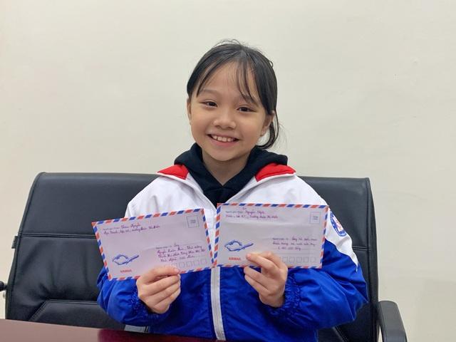 Bé gái Hà Nội quyên góp tiền, viết thư gửi Thủ tướng về chống dịch corona - 1