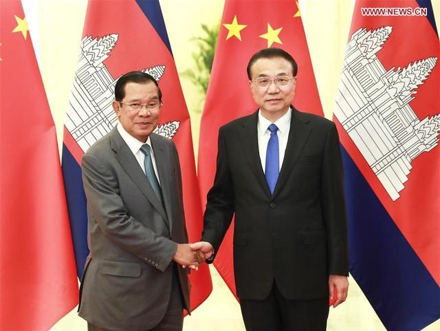Thủ tướng Campuchia nói lý do không đeo khẩu trang khi tới Trung Quốc - 2