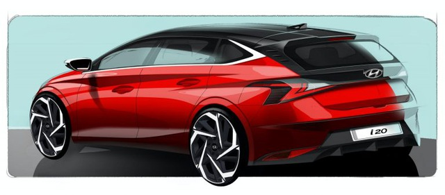 Hyundai hé lộ thiết kế của mẫu i20 thế hệ mới - 2