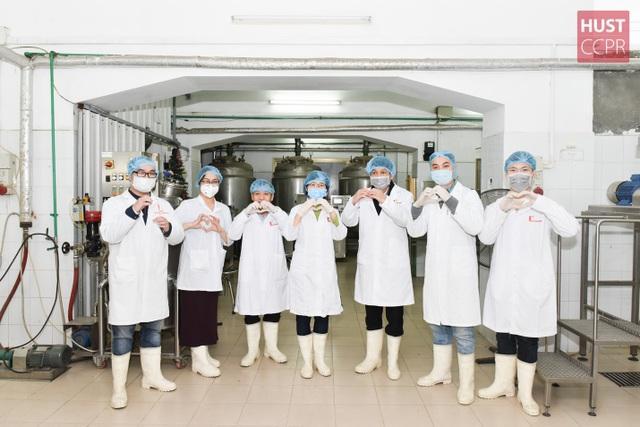 Trường ĐH Bách khoa Hà Nội sản xuất dung dịch khử khuẩn phòng virus corona  - 4