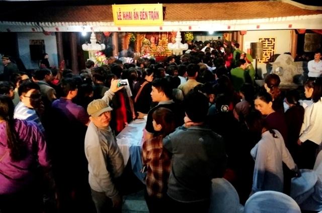 Thanh Hóa: Không tổ chức lễ khai ấn, phát ấn Đền Trần - 4