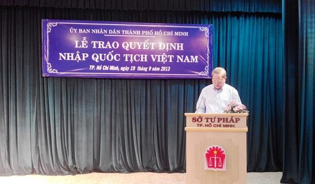Điều kiện nhập quốc tịch Việt Nam - 1