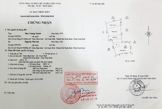 """Ninh Bình: Xóa """"con đường ma"""" trên đất dân vào đất người nhà Chủ tịch xã! - 1"""