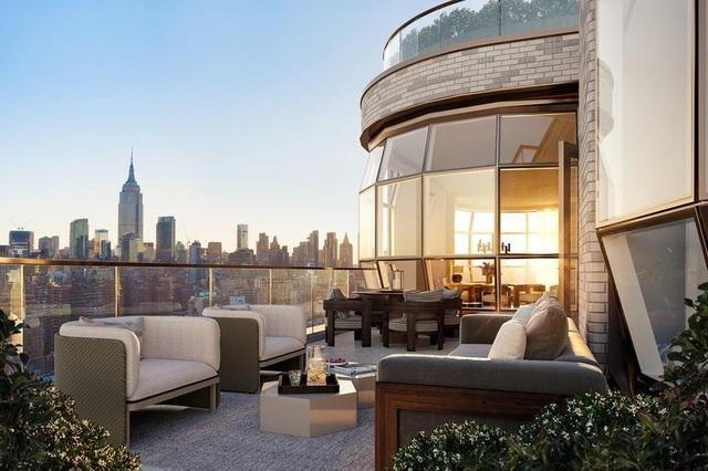 Tòa tháp ở Mỹ gây sửng sốt với thiết kế cửa sổ như đèn thủy tinh khổng lồ - 2