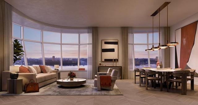 Tòa tháp ở Mỹ gây sửng sốt với thiết kế cửa sổ như đèn thủy tinh khổng lồ - 4