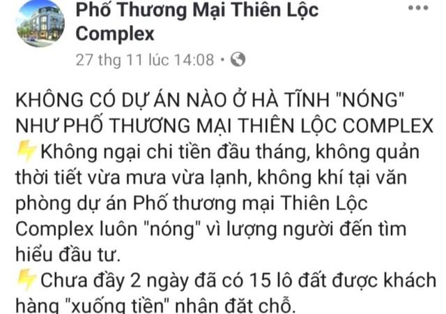 Cả huyện đau đầu với tổ hợp thương mại đầu voi, đuôi chuột tại Hà Tĩnh - 6