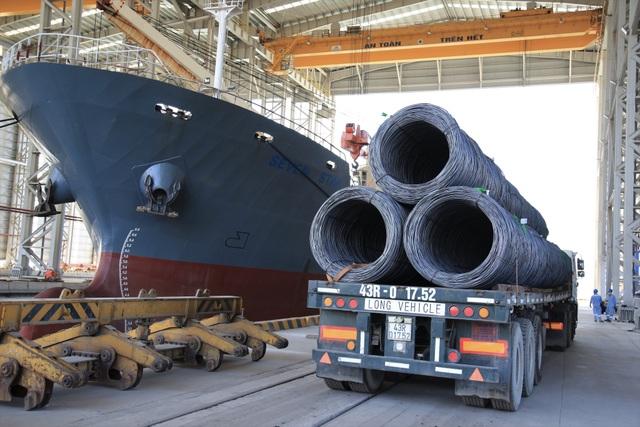 Hòa Phát đặt mục tiêu xuất khẩu 400.000 tấn thép xây dựng năm 2020 - 1