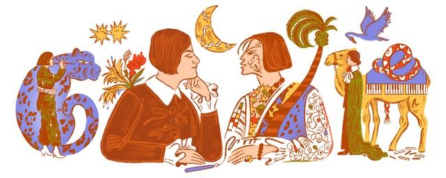 Else Lasker-Schüler: Chân dung nữ nhà thơ - họa sĩ được Google tôn vinh - 1