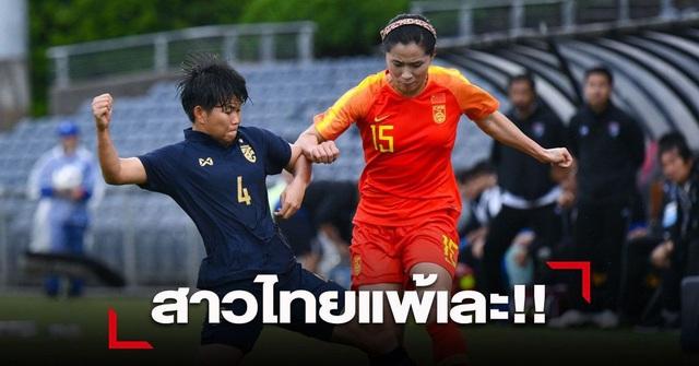 Báo Thái Lan thất vọng khi đội nhà thua thảm trước nữ Trung Quốc - 1