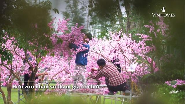 Những điều chỉ có trong lễ hội hoa xuân trăm tỷ ở Vinhomes Smart City - 2