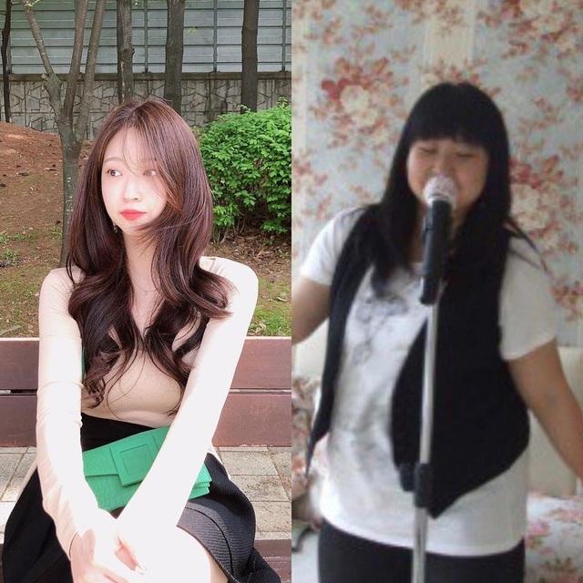 Cô gái Hàn nặng 101kg trẻ con nhìn khóc thét, giảm cân xinh như tiên nữ - 1