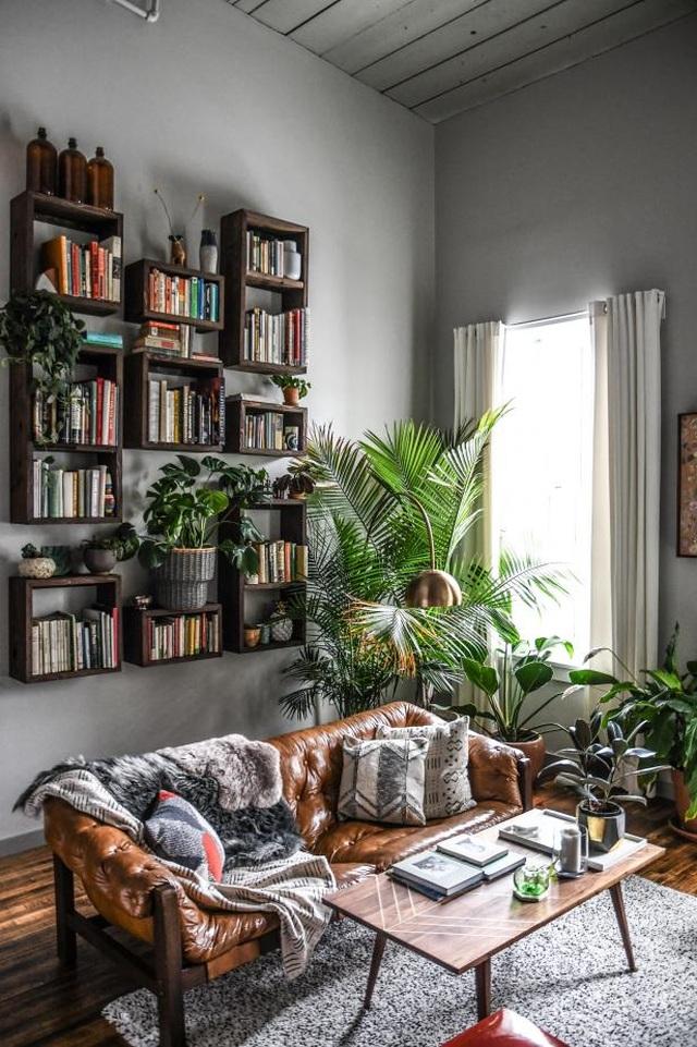 """Bất ngờ ngôi nhà trồng 300 loại cây, đẹp chẳng kém """"rừng Amazon thu nhỏ"""" - 4"""