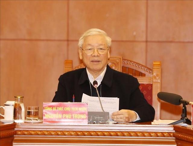 Tổng Bí thư chủ trì họp Tiểu ban Văn kiện Đại hội XIII của Đảng - Ảnh minh hoạ 2