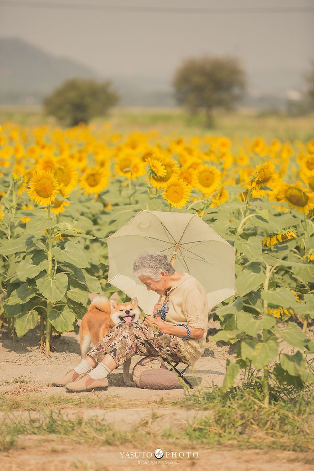 """Gác lại căng thẳng để nhìn ngắm cuộc sống yên bình của """"bà cụ và cún cưng"""" - 9"""
