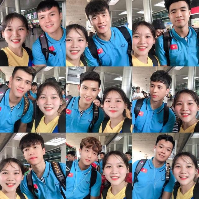 Nữ sinh xinh đẹp hâm mộ tuyển thủ Quang Hải và là tiền đạo cứng - 4