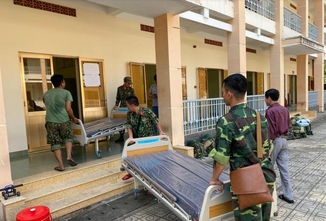 Những hình ảnh đầu tiên về bệnh viện dã chiến chống corona tại Sài Gòn - 3
