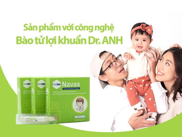 Tăng đề kháng đường hô hấp bằng bào tử lợi khuẩn LiveSpo Navax - 2