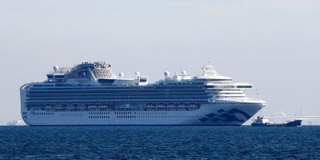 70 người nhiễm virus corona trên du thuyền tại Nhật Bản - 1