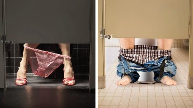 Tại sao cửa WC công cộng luôn thiết kế khoảng hở to đến vô duyên? - 6