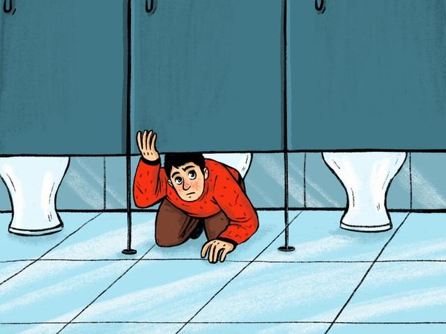 Tại sao cửa WC công cộng luôn thiết kế khoảng hở to đến vô duyên? - 7