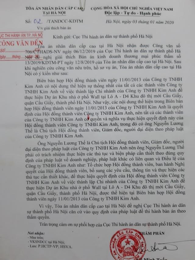 Diễn biến mới nhất trong vụ tranh chấp doanh nghiệp rúng động Hà Nội - 3