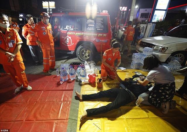 Đặc nhiệm Thái Lan giải cứu con tin, truy bắt nghi phạm đang cố thủ - 10