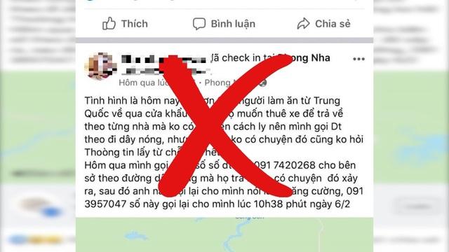 Triệu tập người tung tin trên 200 người từ Trung Quốc về không được cách ly - 2