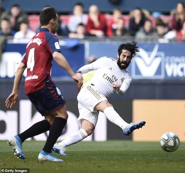 Osasuna 1-4 Real Madrid: Đoàn quân HLV Zidane vững ngôi đầu - 5
