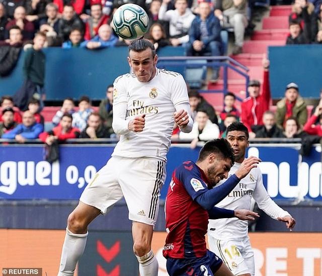 Osasuna 1-4 Real Madrid: Đoàn quân HLV Zidane vững ngôi đầu - 7
