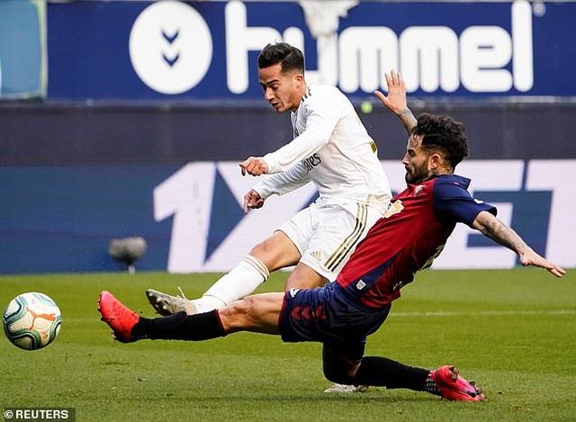 Osasuna 1-4 Real Madrid: Đoàn quân HLV Zidane vững ngôi đầu - 10