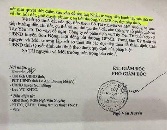 """Tạm dừng khen thưởng sau """"lùm xùm"""" tại Sở TNMT Bắc Giang - 3"""