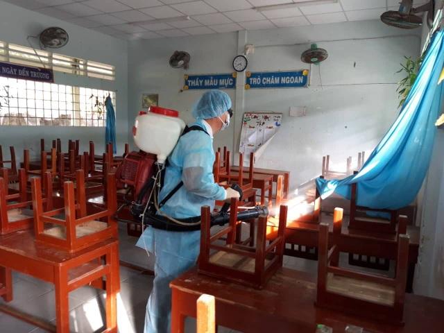 ĐBSCL: Tăng cường vệ sinh trường, lớp phòng tránh dịch bệnh Corona - 1