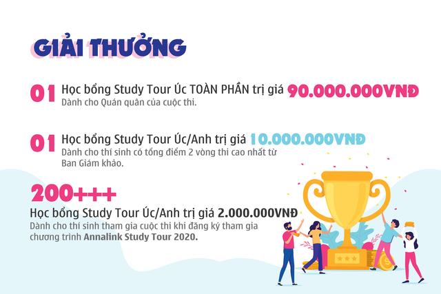 Chạm tay tới giấc mơ Study Tour tại Úc với Học bổng Toàn phần Annalink Tours Scholarship trị giá 90.000.000 VNĐ - 2