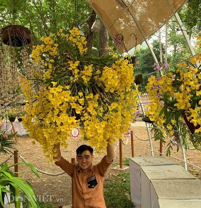 Giàn phong lan giả hạc thanh củi khủng của 9X Lâm Đồng - 7