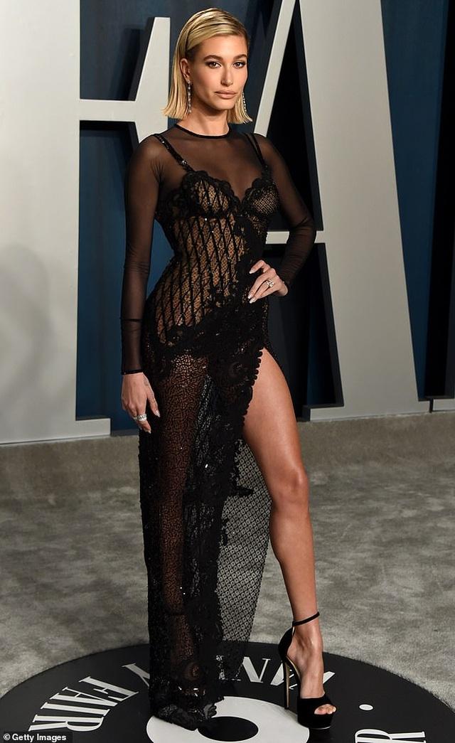 Vợ Justin Bieber khoe dáng nuột nà tại tiệc Oscar - 5